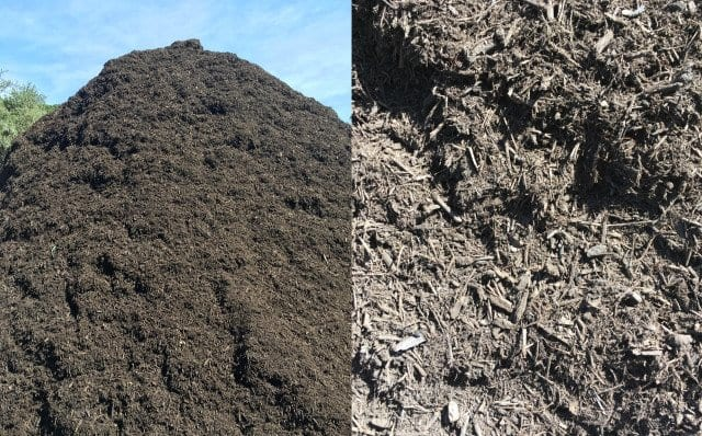 Composted Hardwood Mulch - Texas Soil and Stone San Antonio